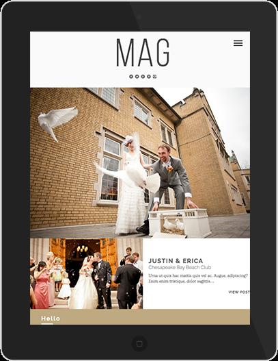 Mag iPad View