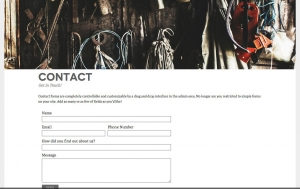 Venti Contact Page
