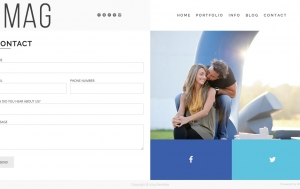 Contact Page - Built w/ Layout Builder